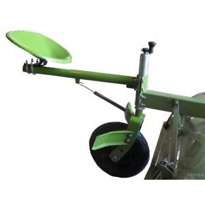Сидение к почвофрезе с колесом