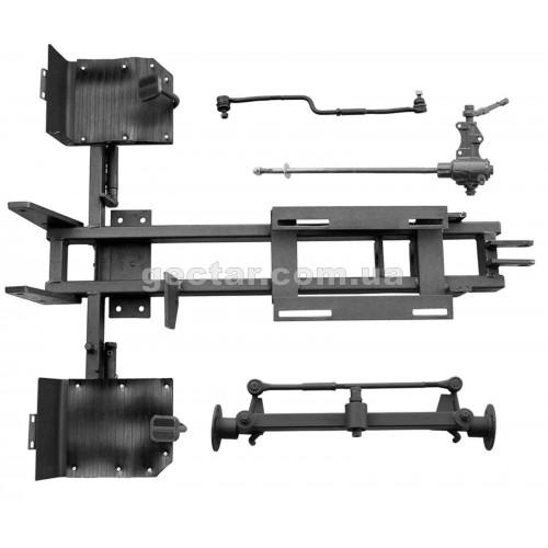 Комплект №3 для переоборудования мотоблока в минитрактор, механические тормоза