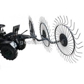 Грабли «Солнышко» на 3 колеса ГР-4