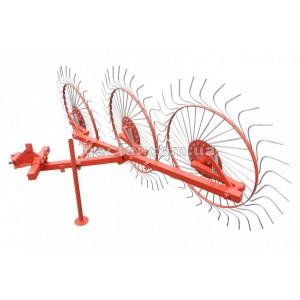 Грабли «Солнышко» на 3 колеса 1 т