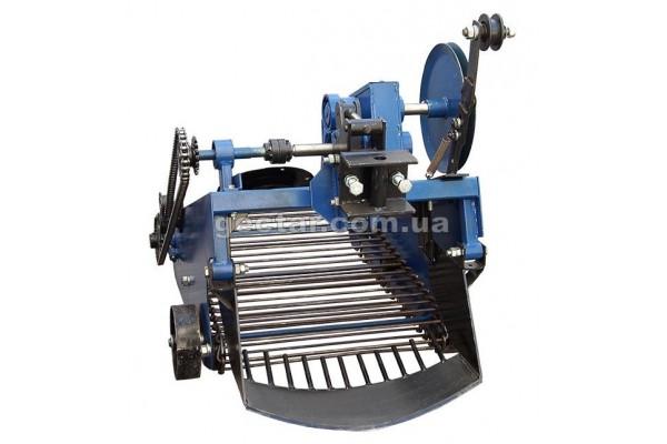 Картофелекопатели для мототрактора с гидравликой