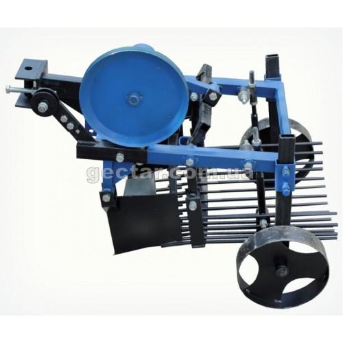 Картофелекопатель двухэксцентриковый для мототрактора с гидравликой