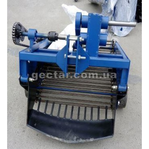 Картофелекопатель транспортёрный для мототрактора с гидравликой