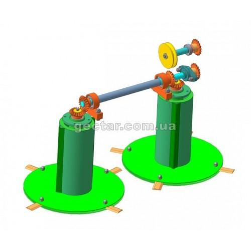 Косилка для мототрактора КР-1,1 ПМ-2