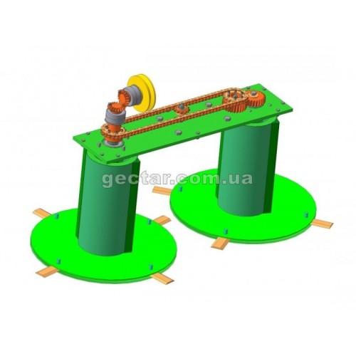 Косилка для мототрактора КР-1,1 ПМ-1