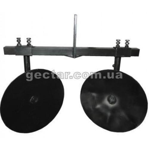 Окучник дисковый регулируемый Ф360 с поперечной рамой