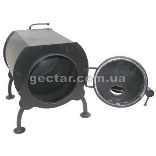 Печь дровяная отопительная ПД-40 эконом