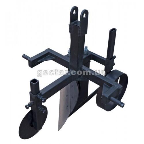 Плуг для минитрактора с дисковым ножом ПЛ12