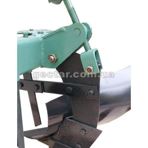 Плуг для мотоблока, мототрактора регулируемый 1-20
