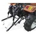 Трёхточечная навесная система для мототрактора